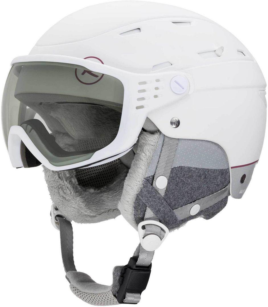 Damski kask narciarski Rossignol Allspeed Visor Impacts